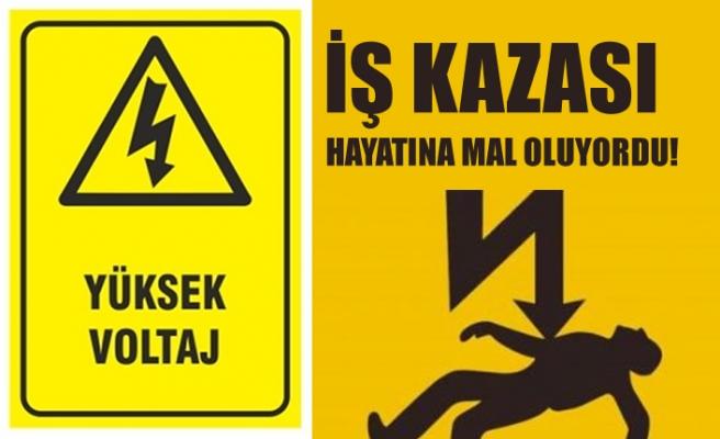 İsveç'te iş kazası yüksek voltaja kapılan işçi ağır yaralandı