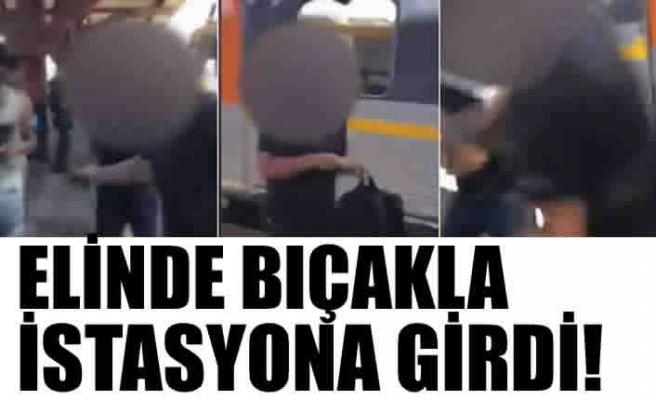 İsveç'te şok ırkçılık, elinde bıçakla...