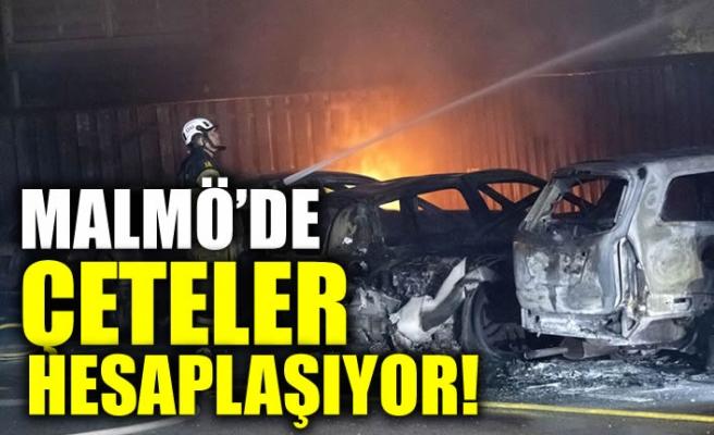 Malmö'de çeteler hesaplaşıyor, araçlar kundaklandı