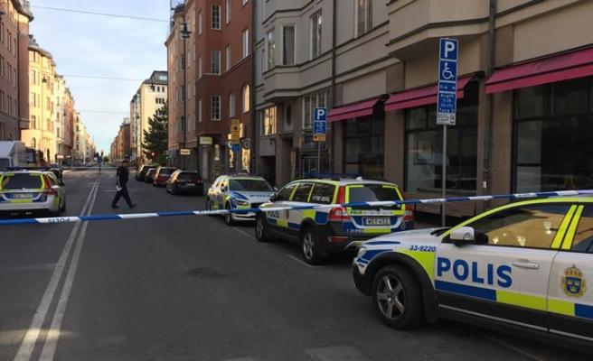 Stockholm'ün kalbinde bir kişi vuruldu