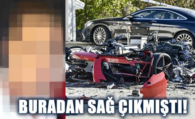 İsveç'te kiralık Ferrari'yi parçalayıp Fas'a kaçtı
