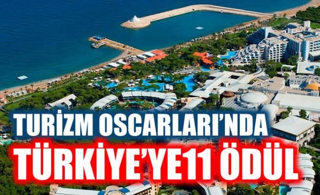 'Turizm Oscarları'nda Türkiye'ye 11 ödül