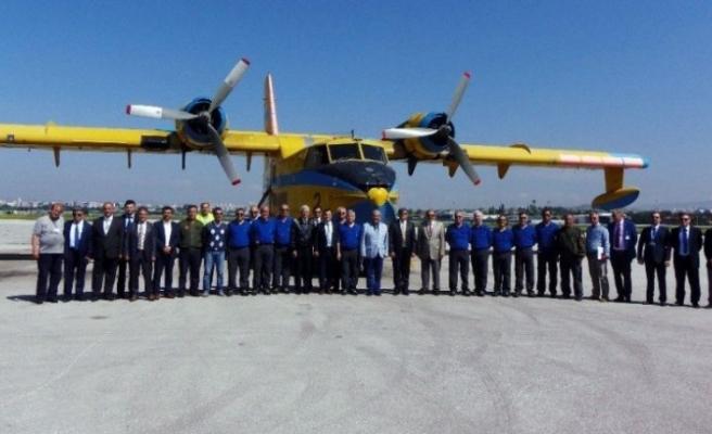 Türkiye'den gelecek yangın uçakları pazar gününe kadar İsveç'te olacak