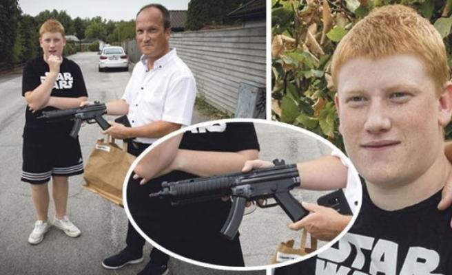 İsveç polisi elinde oyuncak silah bulunan otistik gencin kolunu kırdı