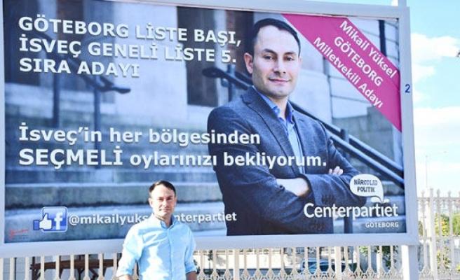 İsveç'te Türk kökenli politikacıya yönelik baskı