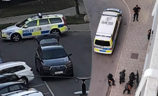 Stockholm'ün merkezinde polis bir kişiyi vurarak öldürdü!