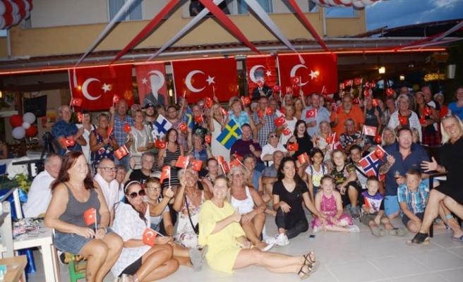 Antalya'ya 113 bin İsveçli, 135 bin Danimarkalı gitti