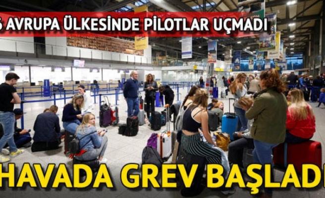 Pilot ve kabin görevlileri 6 Avrupa ülkesinde greve gitti, 250 uçuş iptal