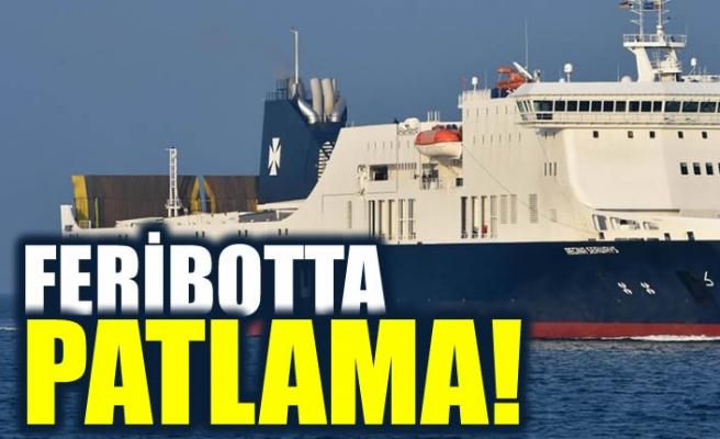 Baltık Denizi'nde yüzlerce yolcusu bulunan feribotta patlama!