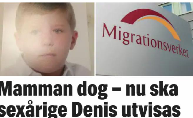 İsveç'te annesi öldürülen çocuğa sınır dışı kararı