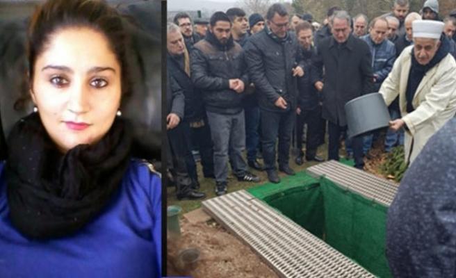 15 bıçakla öldürülen gurbetçi Gülçin'e en kalabalık veda