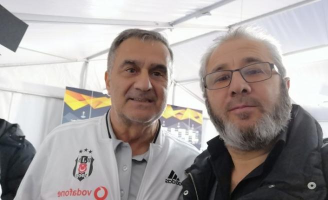 Beşiktaş Teknik Direktörü Şenol Güneş: Olumsuz hava ve saha şartlarını yenebilecek güçteyiz