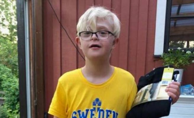 İsveç her yerde bu çocuğu arıyor