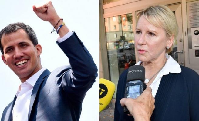İsveç, Guaido'yu Venezuela Lideri İlan Etti