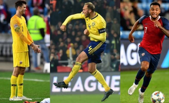 İsveç Norveç arasında gol düellosu
