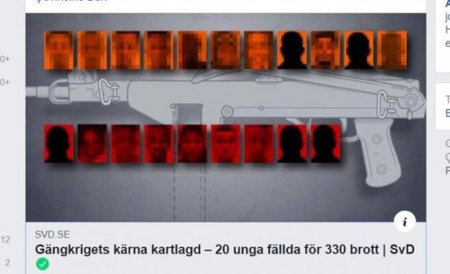 İsveç'te iki çete arasındaki çatışmada  4 yılda 330 suç işlendi
