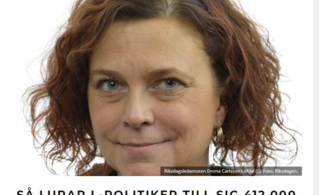 İsveç'te milletvekili eşinin sahip olduğu ev için kira yardımı almış