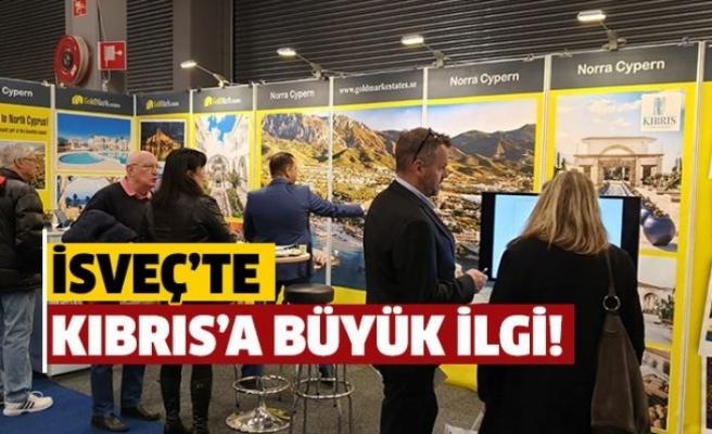 İsveç'te Kıbrıs'a büyük ilgi!