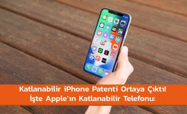 Katlanabilir iPhone gelecek
