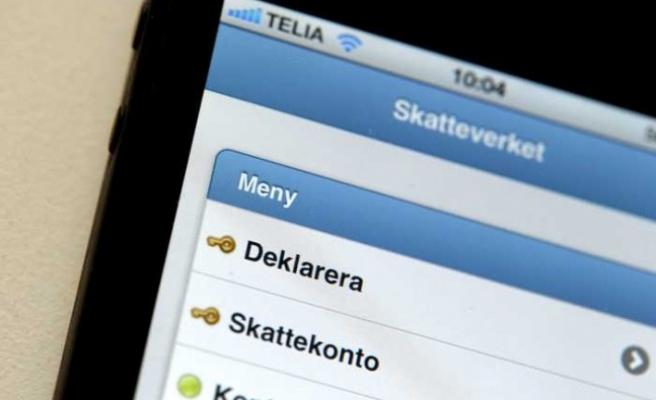 İsveç'te vergi iadeleri dağıtılmaya başladı