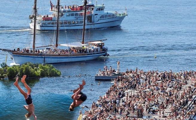 İskandinavya'da hava sıcaklığı 40 dereceye dayandı