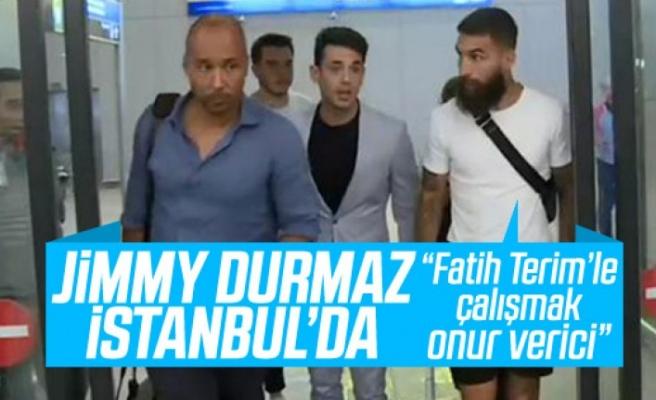 Jimmy Durmaz, Galatasaray için İstanbul'da