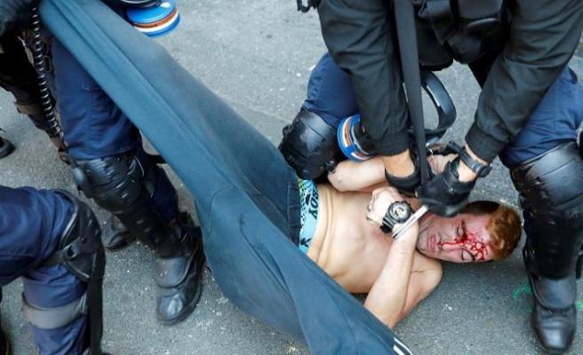 G7 Zirvesi protestolarına polisten sert müdahale: En az 68 gözaltı