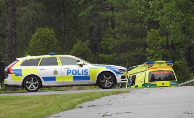 Haninge'de bir kişi öldürüldü