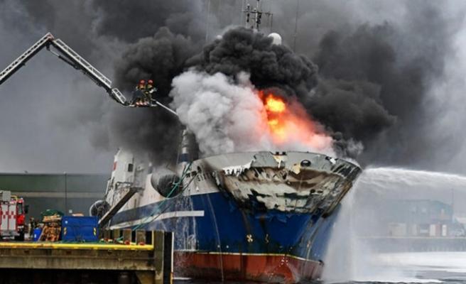 Norveç'te korku dolu anlar! Yakıt takından 200 bin litre...