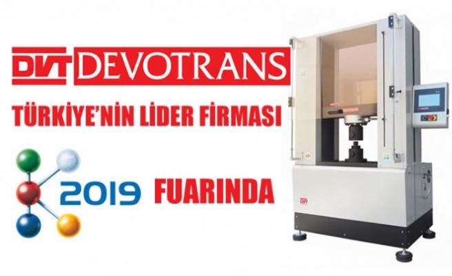 DVT DEVOTRANS Sektörün lider fuarı K 2019'a katılıyor