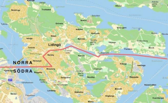 Lidingö'de bir ceset bulundu