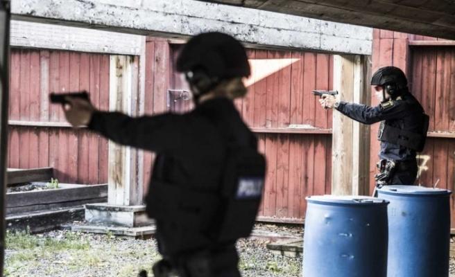 Skåne bölgesine 105 yeni polis görevlendirildi