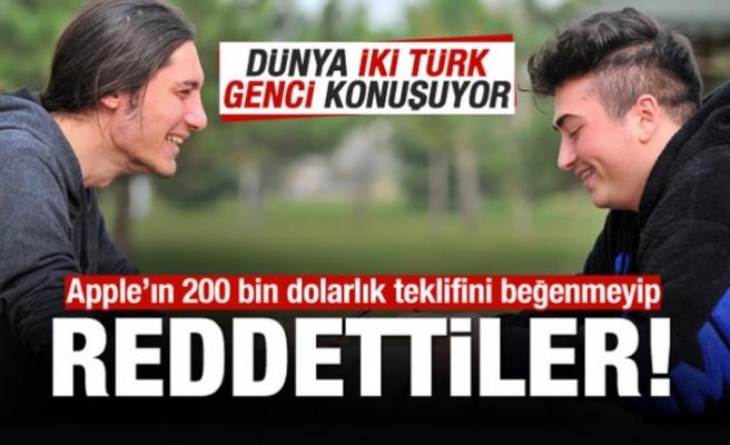 Türk gençleri, Apple'ın 200 bin dolarlık teklifini reddetti!