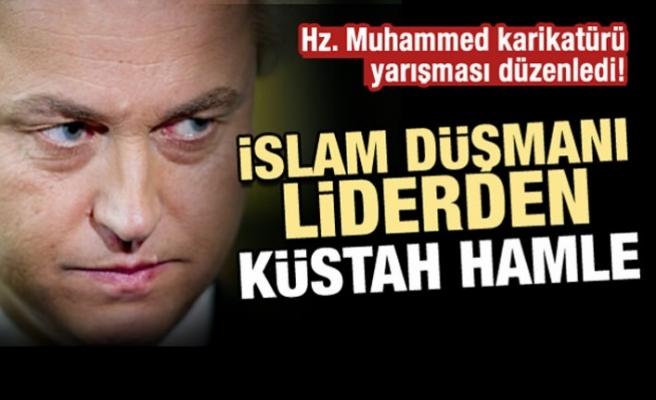Irkçı liderden yeni provokasyon! Hz. Muhammed karikatürü yarışması düzenledi