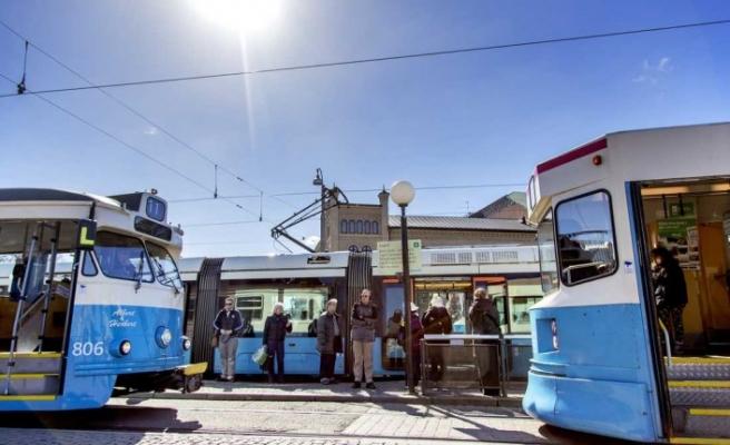 Batı İsveç'te toplu taşıma kontrolleri 4 katına çıkarılacak