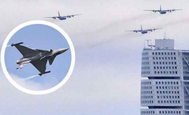 İsveç Hava Kuvvetleri - Jetlerin havalanacağını duyurdu