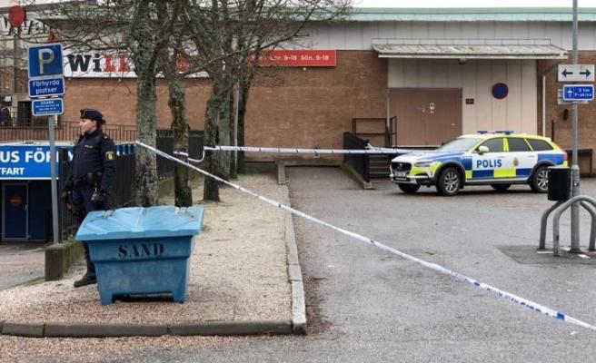 İsveç'te bir Willys mağazasında silahlı soygun