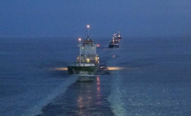 İsveç'te buz tutan denizlerde özel gemiler devreye girecek