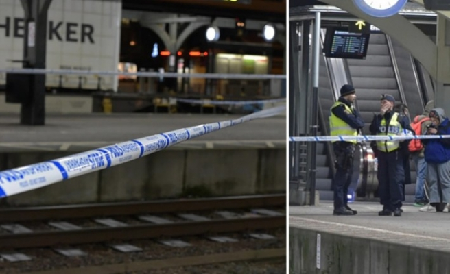 İsveç'te tren istasyonunda korkunç olay - itilen kadına tren çarptı
