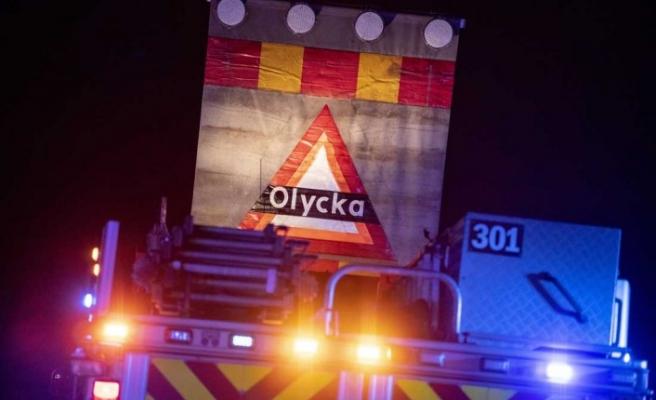 Malmö'de vinç kazası