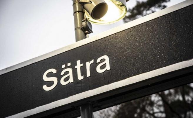 Sätra'da Kiosk (Büfe) ateşe verildi