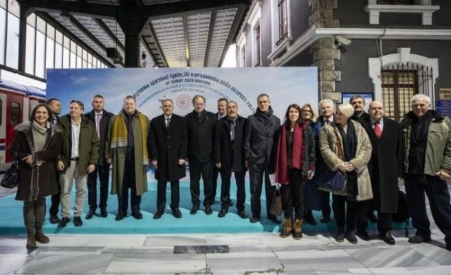 Avrupalı büyükelçiler, AB-Türkiye İşbirliği toplantısını Doğu Ekspresi'nde düzenledi