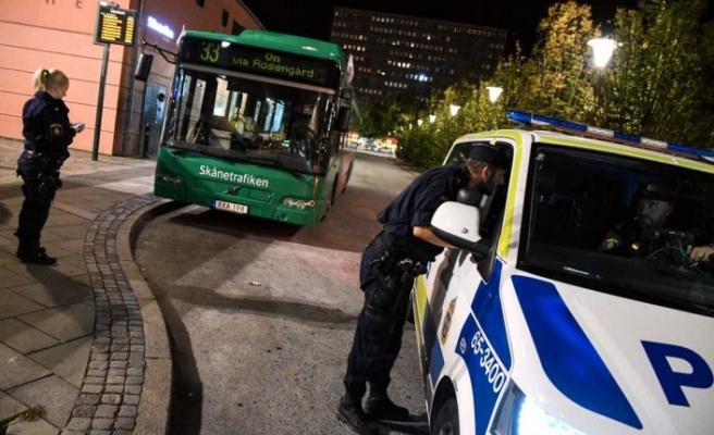 İsveç'te otobüste soygun!