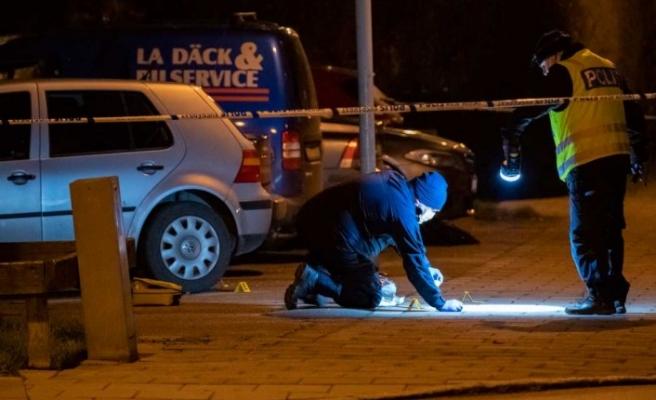 İsveç'te vurulan 35 yaşındaki kişi hayatını kaybetti