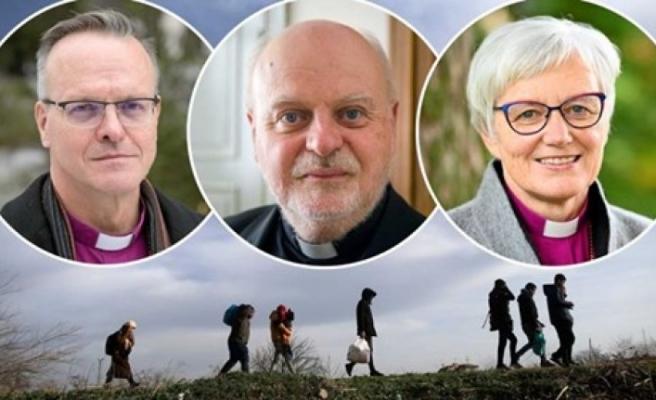 İskandinavya kilisesi AB'yi sığınmacıların sorumluluğunu almaya davet etti