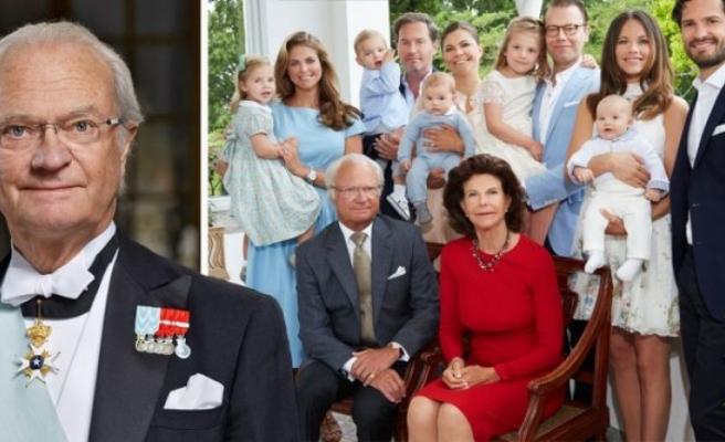 İsveç kralı XVI. Carl Gustaf, koronavirüs nedeniyle kraliyet saraylarını kapattı