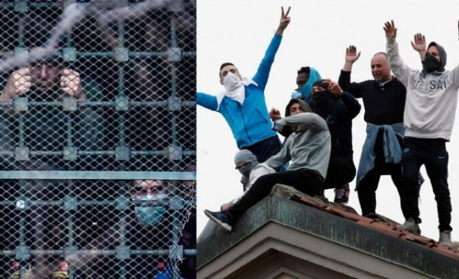 İtalya'da virüs tedbirlerine karşı çıkan cezaevi isyanlarında 6 mahkum öldü