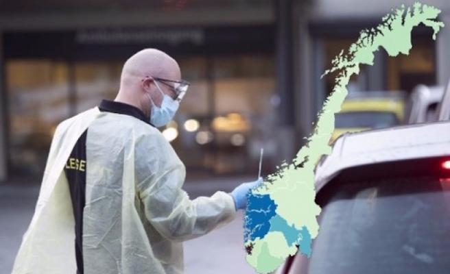 Norveç'te vaka sayısı 1523 oldu