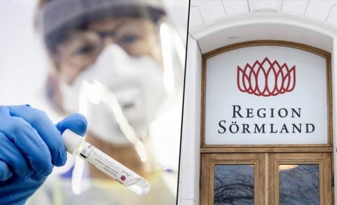 Sörmland'da koronavirüs hasta başvuru sayısı bir günde iki kattan fazla arttı