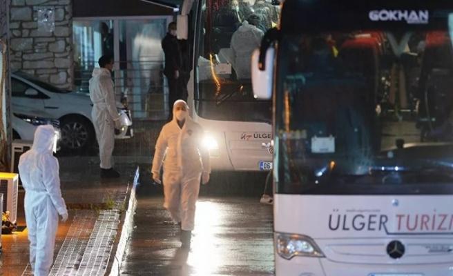 Çekya'dan getirilen 107 Türk vatandaşı Karabük'te yurda yerleştirildi